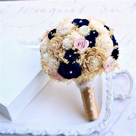 Wedding Bouquet Gold by Wedding Flowers Blue And Gold Wedding O