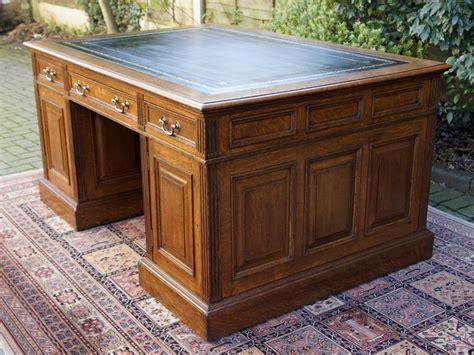 antique oak partners desk antiques atlas