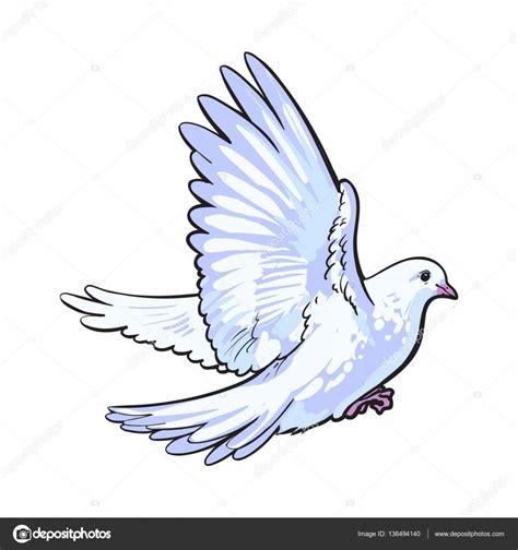 dessin colombe en vol galerie tatouage