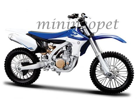 motocross bikes ebay maisto 20 13021 yamaha yz 450f dirt bike motorcycle 1 12