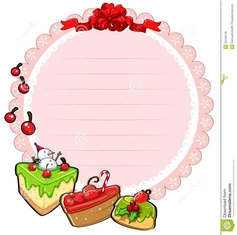 imagenes navidad redondas una plantilla redonda de la tarjeta de navidad con las