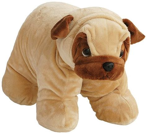 pug pillow pet pug hugga pet pillow stuffed animal by bestever
