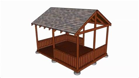diy gazebo plans youtube