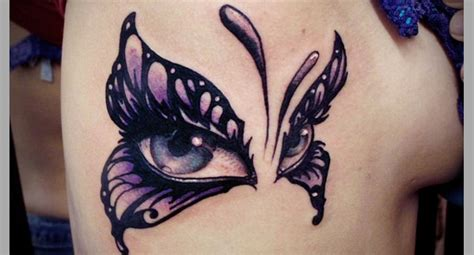 65 wonderful butterfly tattoos for girls