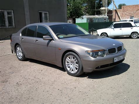 2003 bmw 7 series pics 3 0 gasoline fr or rr automatic for sale