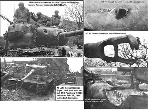 pershing vs tiger germany the tiger tank defensionem the warbible everything about defense