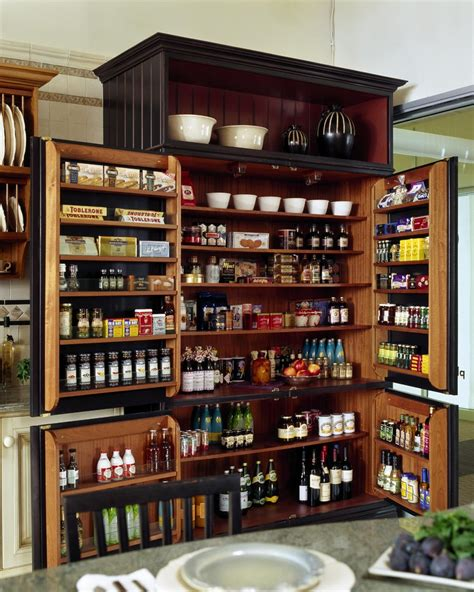 cool freestanding pantry  kitchen traditional