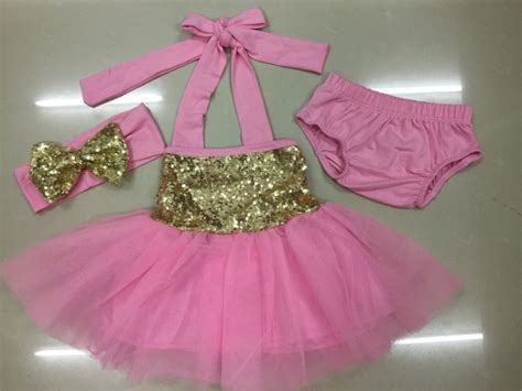 Q483 Baby Pink Birthday Tulle Dress blush pink gold glitter sparkle tulle dress baby s 1st birthday princess dress flower dress