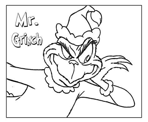 coloring page the grinch grinch coloring pages printable for here bebo pandco