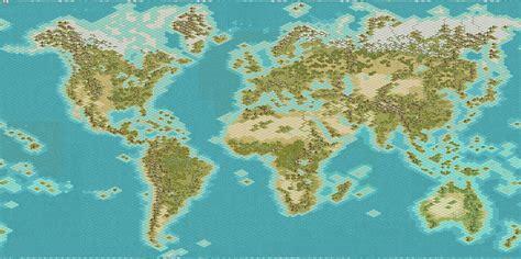 civ 5 world map recommended world map apolyton civilization site