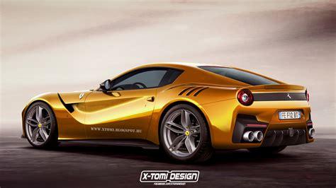 Ferrari F 12 by Digitally Rendered Ferrari F12 Gto Exudes Power Carscoops