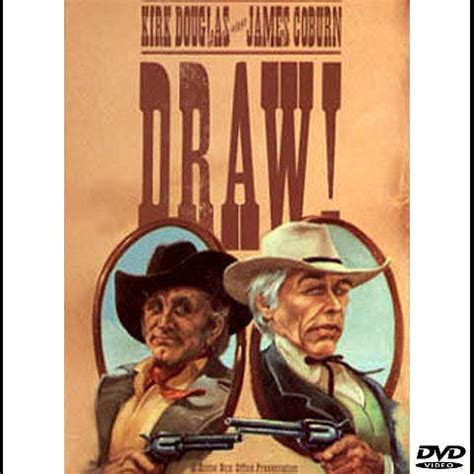 film comedy western draw dvd kirk douglas james coburn comedy tv western