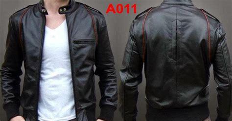 model jaket kulit pria terbaru