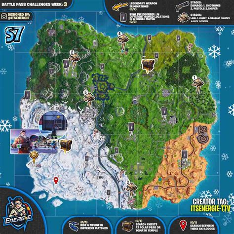 fortnite week 3 challenges fortnite week 3 challenges map report