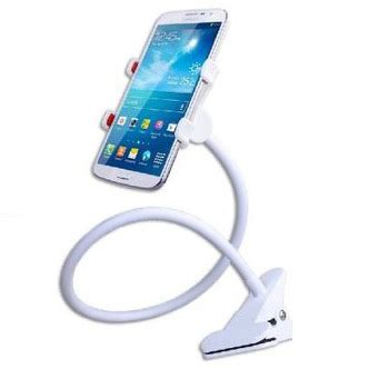 Phone Holder Stand Lazypod Mobile Phone Monopod Tripod 8 1 lazypod mobile phone monopod tripod 8 1 white