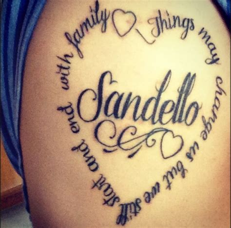 family tattoo verses family tattoo quotes quotesgram