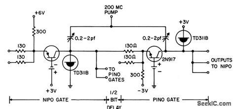 diode transistor logic diagram negative inputs for diode transistor 28 images pumped tunnel diode logic gates basic circuit