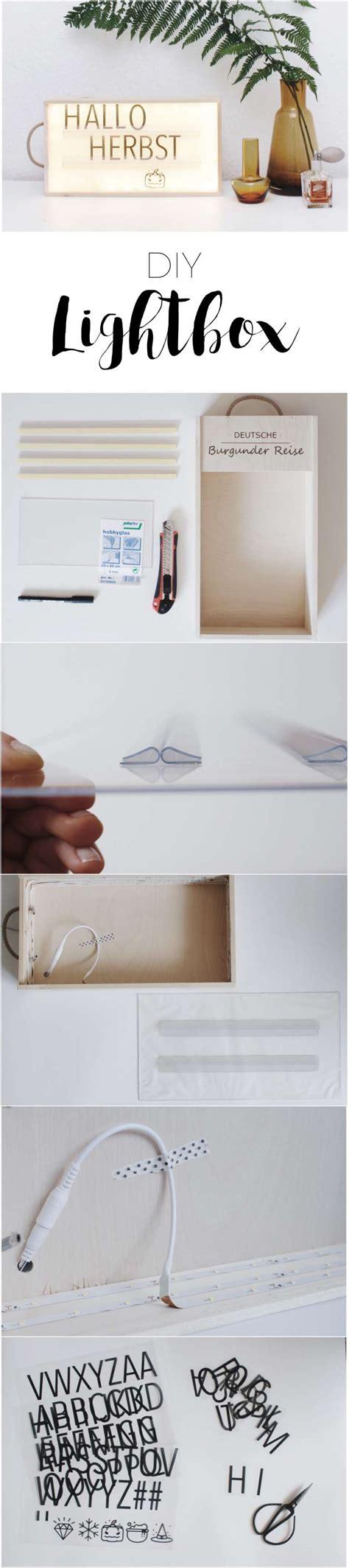 Lightbox Selber Machen by Diy Lightbox Einfach Selber Machen Paulsvera