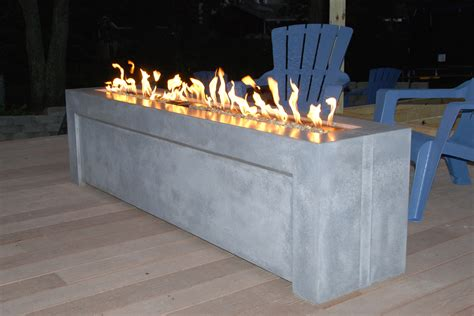 precast concrete fire pit fireplace design ideas