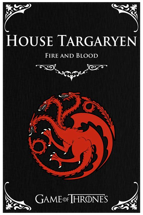 Kaos House Targaryen Of Thrones Of Thrones House Targaryen By Stanxv On Deviantart