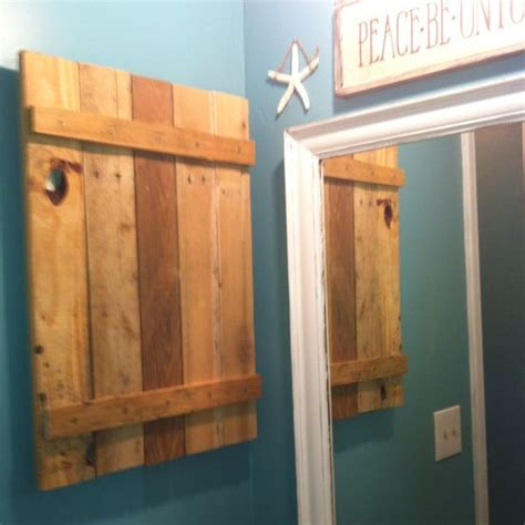 diy medicine cabinet ideas hand made medicine cabinet out of a pallet diy ideas