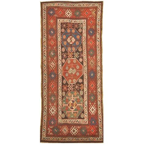caucasian rugs for sale small antique caucasian kazak rug for sale at 1stdibs