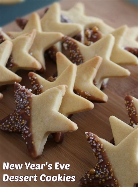 new year chocolate cookies recipe best 25 new year s desserts ideas on new year