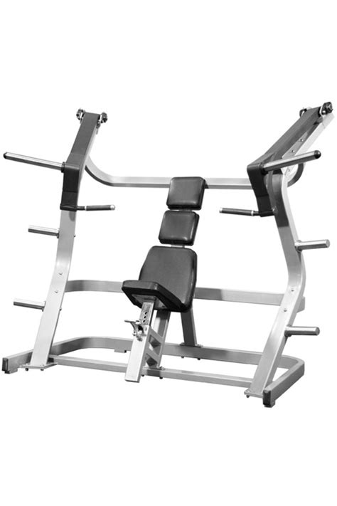 lateral bench iso lateral incline chest press muscle d fitness