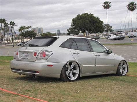 lexus is300 wagon slammed king tuck stance airlift airliftperformance is300