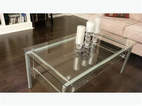 glass coffee table end table from jysk city