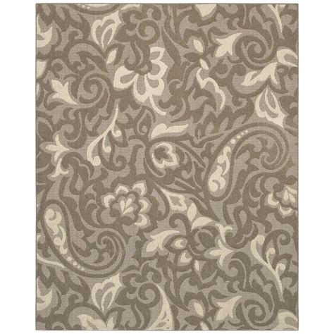 mohawk area rugs 8x10 mohawk home forte taupe ivory 8 ft x 10 ft area rug 285968 the home depot