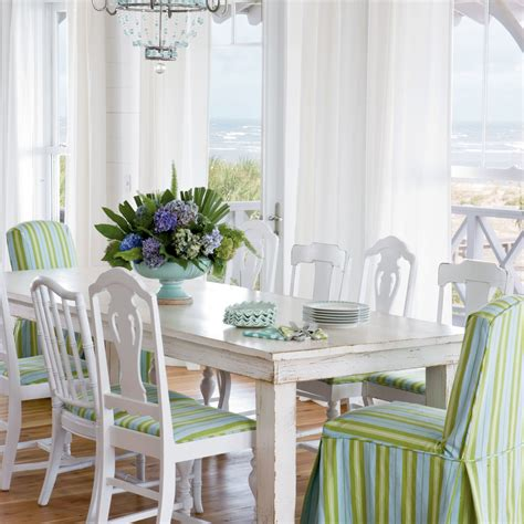 coastal living dining room quirky beach dining room 20 beautiful beach cottages