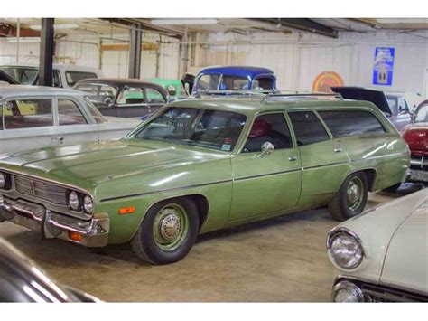 plymouth station 1974 plymouth station wagon for sale classiccars