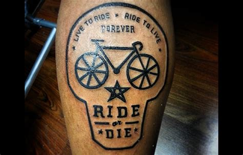 awesome bike tattoos that every cyclist must see m