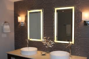 bathroom mirrors lighted lighted mirrors for bathrooms house lighting