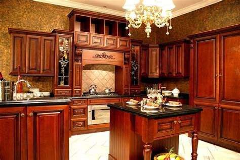 Photos Of Kitchens With Cherry Cabinets by Low Budget Home Depot Kitchen Home And Cabinet Reviews
