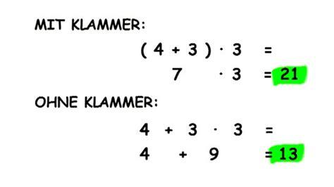 Rechnung Mathe Englisch Klammern Punkt Vor Strich H2rigis Jimdo Page