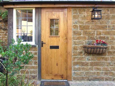 Cottage Style External Wood Doors