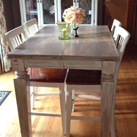 Kitchen Table Diy Diy Distressed Kitchen Table Kitchen
