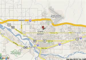 map of doubletree grand junction grand junction