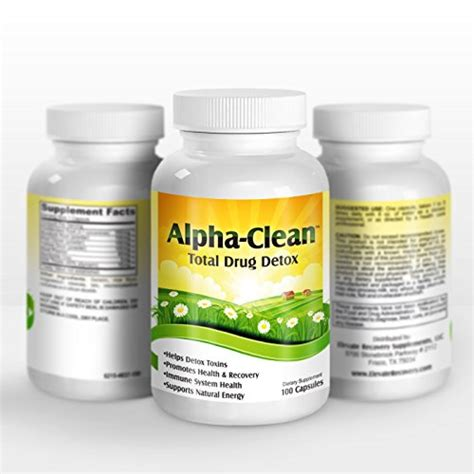 Detox Nicotine In 24 Hours by Alpha Clean Home Detox Cleanse
