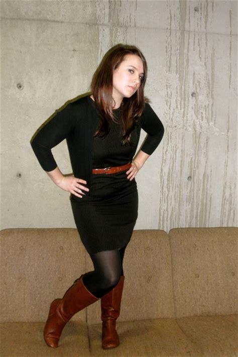 black target dresses brown target boots black forever 21