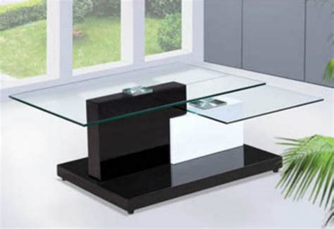 modern glass coffee table bq350 contemporary