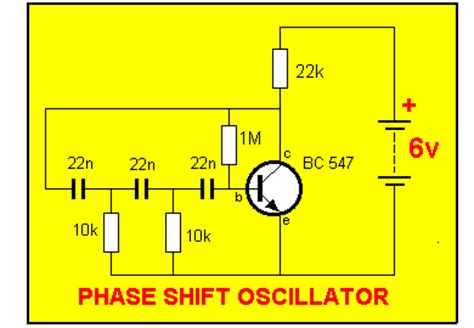 transistor lifier phase shift transistor lifier phase shift 28 images simple audio sine wave oscillator simulating