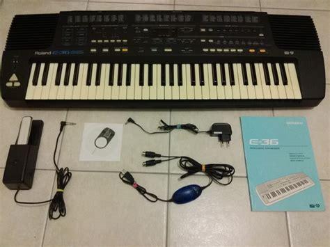 Keyboard Roland E36 Roland E 36 Image 1161883 Audiofanzine