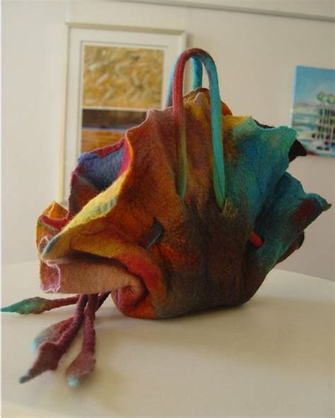Ruqosa Dress S 2 rugosa felted bag wool bags and design