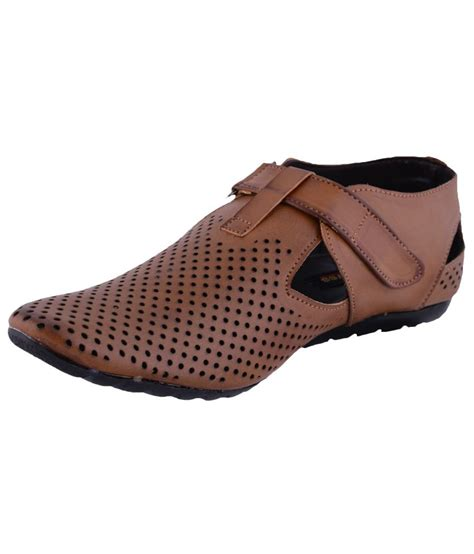 s faux leather brown casual shoes price in india buy