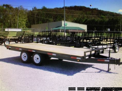 by appointment only trailer heavy equipment choo choo trailers and guns