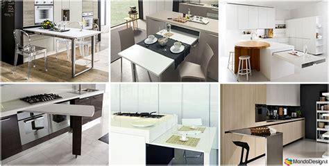 cucine con tavolo a scomparsa 20 cucine con tavolo estraibile a scomparsa mondodesign it