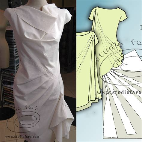 dress pattern making courses drape dress patterns make two in this class by studio